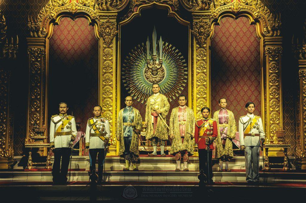 พระบรมรูปอดีตพระมหากษัตริย์ราชวงศ์จักรี