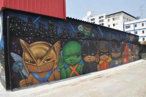 Batcat Museum & Toys Thailand kapook